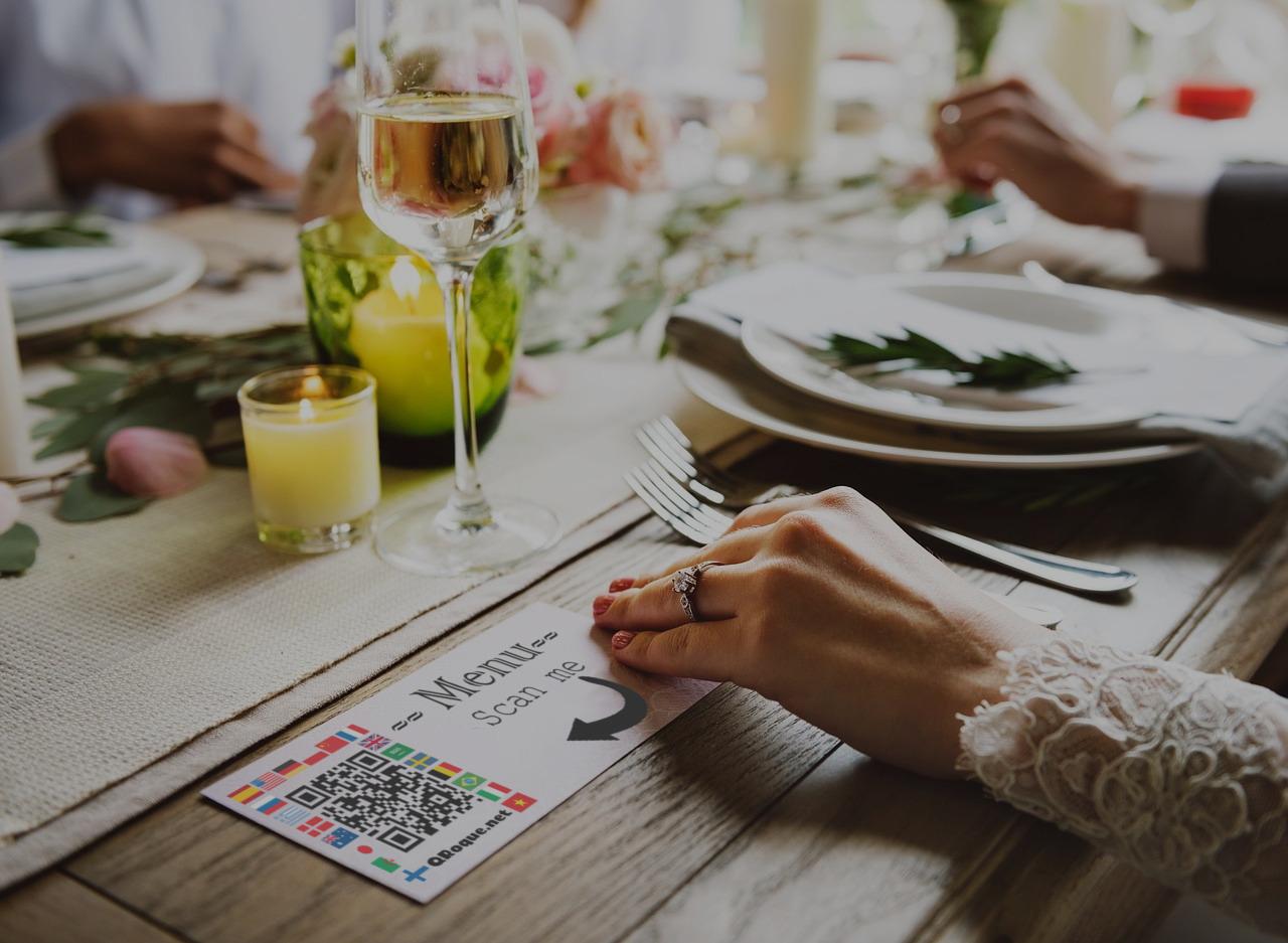 QRoque traduction menu restaurant